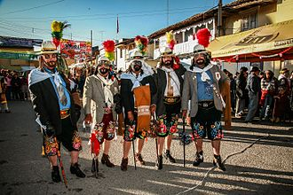 Jauja - El Español de Tunantada, también llamado príncipe, es un personaje que integra la Tunantada, originaria de Jauja. Baile declarado patrimonio de la Nación del Perú.