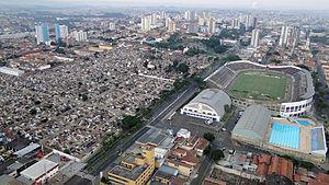 Estádio Barão de Serra Negra - Image: Estádio XV