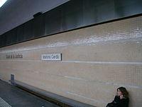 Estació d'Ildefons Cerdà.JPG