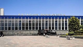 Buenavista station Main railway station of Mexico City