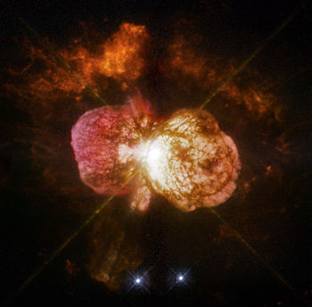 Eta Carinae captured by the Hubble Space Teles...