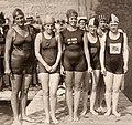 Ethelda Bleibtrey, Violet Walrond, Jane Gylling, Irene Guest, Frances Schroth, Constance Jeans 1920.jpg