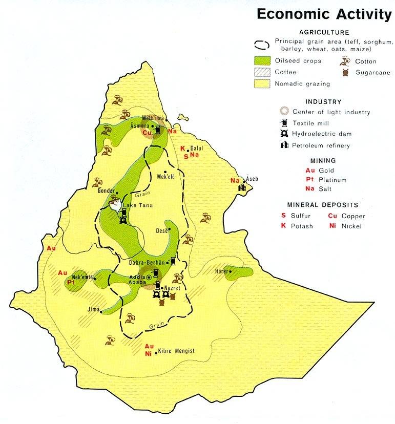 Ethiopia econ 1976