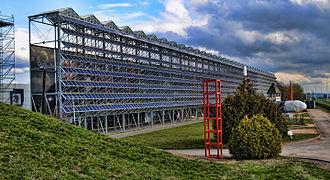 Euro Space Center - Main Building at Euro Space Center in Redu (Belgium)