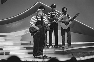 Bamses Venner - Bamses Venner at a rehearsal for the Eurovision Song Contest 1980