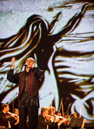 Alim Qasimov - Alim Gasimov on the semi-final allocation draw ceremony of Eurovision Song Contest 2012