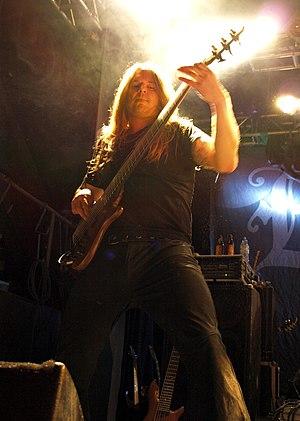 Jari Kainulainen - Jari Kainulainen with Evergrey live in Nosturi, 2008