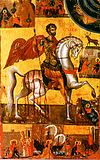 Saint Eustace (17th-century icon)