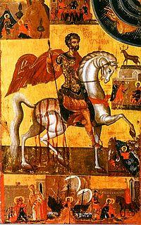 Saint Eustace Christian martyr