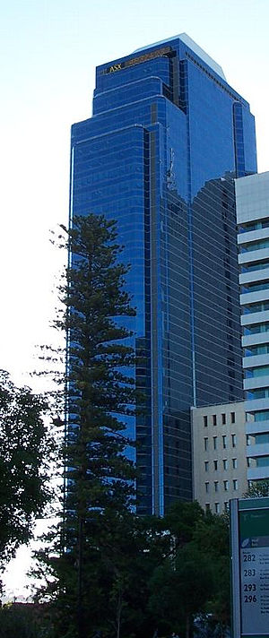 Exchange Plaza - Image: Exchange Plaza, Perth