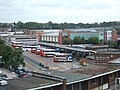Exeter bus station, from the Princesshay car park - geograph.org.uk - 2061766.jpg