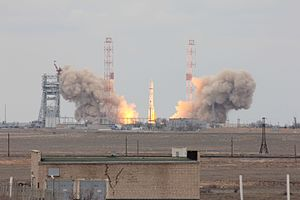 ExoMars Trace Gas Orbiter - Launch of the Proton carrier rocket