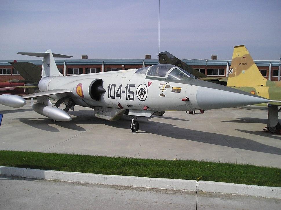 F-104G Starfighter (Museo del Aire de Madrid) (6)