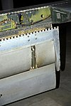 F-86H Sabre slat detail, National Museum of the US Air Force, Dayton, Ohio, USA. (31536444287).jpg