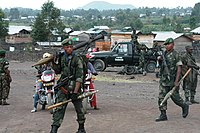 FARDC and MONUSCO reinforce their presence in and around Goma following a second day (21 May 2013) of clashes between M23 and National troops. (8782972992).jpg
