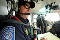 FEMA - 38984 - FEMA USAR team member in a helicopter over Texas.jpg