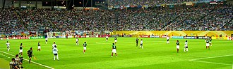 Mexico national football team - Mexico against Argentina at the 2006 FIFA World Cup.