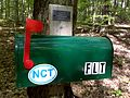 FLT M09 1.1 mi - Trail register at junction of blue trail to bivouac area - panoramio.jpg