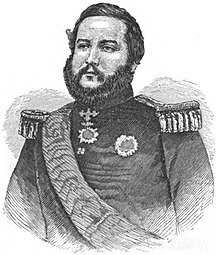 Paraguay-Paraguayan War (1864–1870)-FRANCISCO SOLANO LOPEZ (From a Photograph taken in 1859)