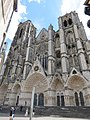 Façade occidentale cathédrale Saint-Étienne Bourges 01.jpg