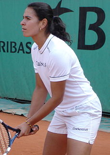 Fabiola Zuluaga Colombian tennis player
