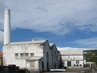 Flores Island (Azores) - Boqueirão Whale Factory, continuously active during the late 19th and early 20th centuries