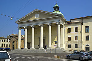 Treviso Cathedral - Treviso Cathedral west front