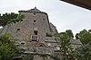 Face est du logis Tiphaine Raguenel (Le Mont-Saint-Michel, Manche, France).jpg