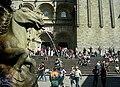 Fachada de praterías e fonte dos Cabalos. Catedral de Santiago de Compostela.jpg