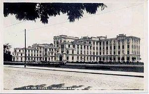 University of São Paulo - The Faculty of Medicine in the early twentieth century.