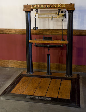 Fairbanks-Morse - Fairbanks platform scale