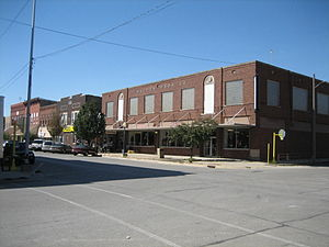 Fairbury, Illinois - The Walton Brothers building in downtown Fairbury is still operating as a department store as of September 2007.