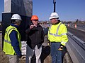 Fairhaven-New Bedford, I-195 Rapid Construction, April 6, 2013 (8630414507).jpg