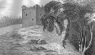 Fairlie, North Ayrshire - Fairlie Castle in the 1840s.