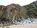 Falaise de la plage La Cotentin.jpg