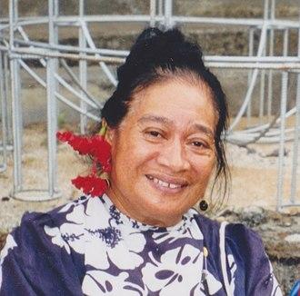Aiono Fanaafi Le Tagaloa - Image: Fanaafi
