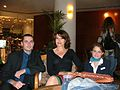 Fanny Ardant Hello Goodbye movie making Israel 2008.jpg
