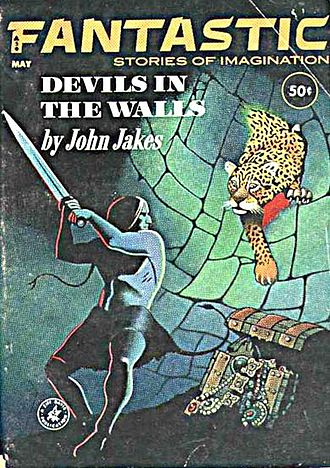 """The Fortunes of Brak - The first Brak story, """"Devils in the Walls"""", originally published in Fantastic Stories in 1963"""