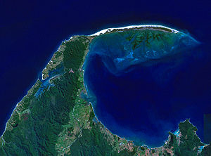 Golden Bay - Landsat image