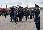 Farewell to the body of Alexander Prohorenko on Chkalauski airfield 06.jpg