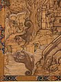 Farrukh chela (attr.), il cane avido, india mogul, 1590 ca., 02.jpg