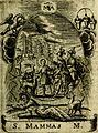 Fasti Mariani cum illustrium diuorum imaginib. and elogijs prope DC. in singulos anni menses diésq SS. natales distributis (1630) (14565442608).jpg