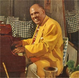 Fats Pichon - Fats Pichon playing at the Old Absinthe House, 1950s