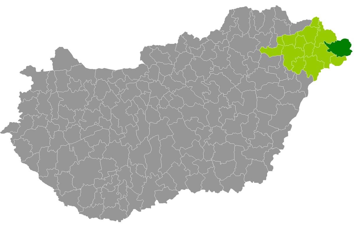 fehérgyarmat térkép Kreis Fehérgyarmat – Wikipedia fehérgyarmat térkép