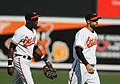 Felix Pie and Nick Markakis (3872462680).jpg