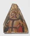 Female Angel. Companion piece to NM 6862 (Mästare av Fogg Pietà) - Nationalmuseum - 23912.tif