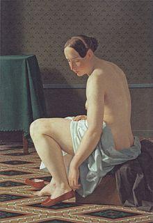 den nøgne kvinde middelalderlig maleri