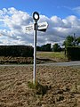 Fenemere signpost - geograph.org.uk - 567060.jpg
