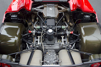 Ferrari F50 - The 4.7-litre Tipo F130 B V12 engine