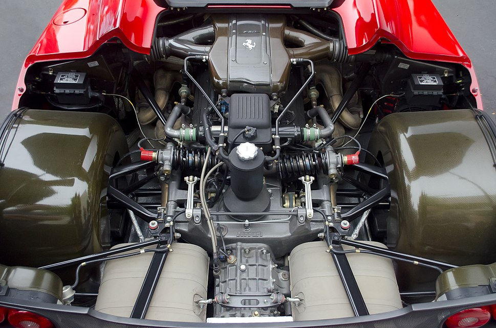 Ferrari F50 Engine Bay (10920980315)